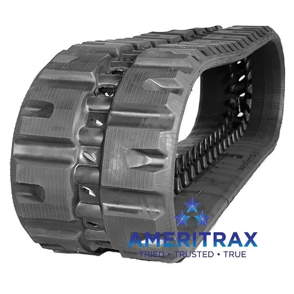 Bobcat T190 rubber tracks.  Ameritrax can ship your new rubber tracks to your location. Call us direct at 888-612-8838