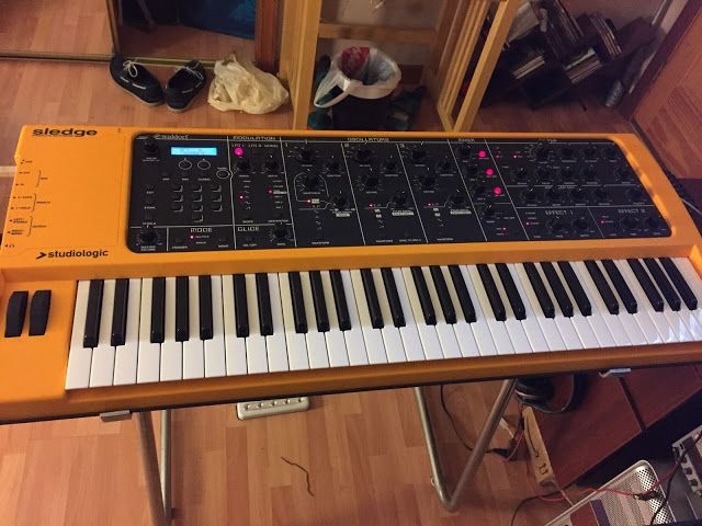 MATRIXSYNTH: Studiologic Sledge Synthesizer 16 Voice Polyphonic...