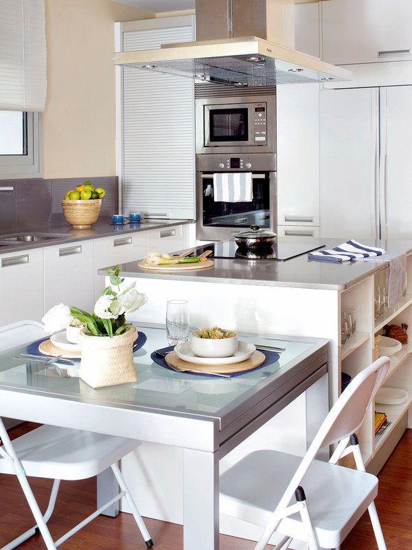 103 best cocinas images on Pinterest | Kitchen ideas, Cuisine design ...