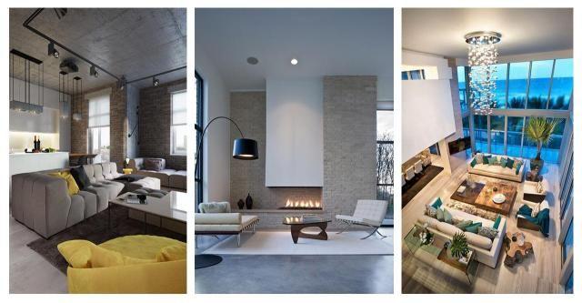 Pomysły na urządzenie salonu w nowoczesnym stylu #STYL NOWOCZESNY #STYL #SALON