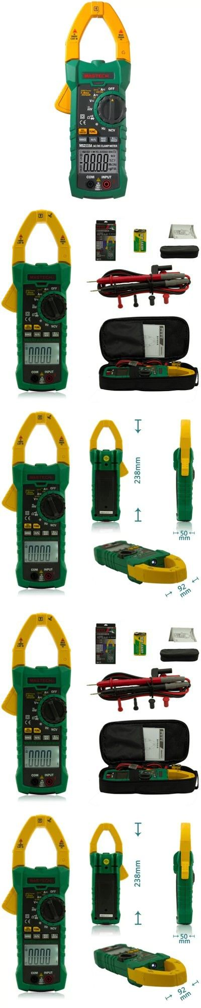 MASTECH MS2115A Digital Clamp Meter Inrush Current 6000 Counts True RMS Data Holding -$96.3