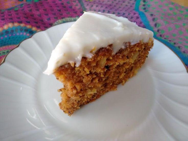 Un manjar al paladar: tarta de zanahoria y piña