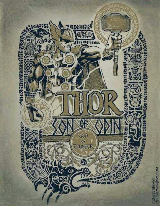 Thor,one of my gods
