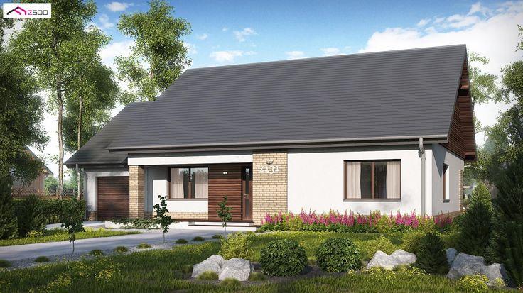 Z131 NF40 to wyjątkowy dom z kategorii projekty domów jednorodzinnych