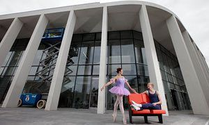 Eloise Harris and Oliver Webb of Canterbury's Dance Warehouse at the Marlowe Theatre