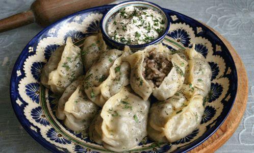 узбекская кухня Манты