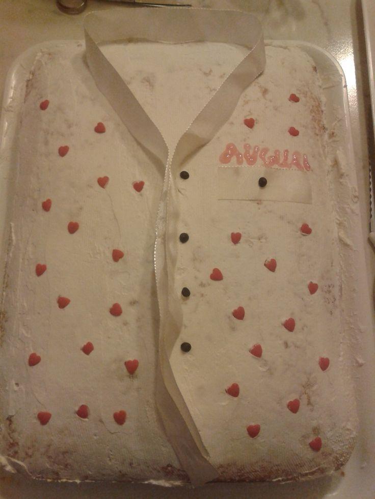 Cake - Daddy's shirt - Torta - La camicia di Papino.