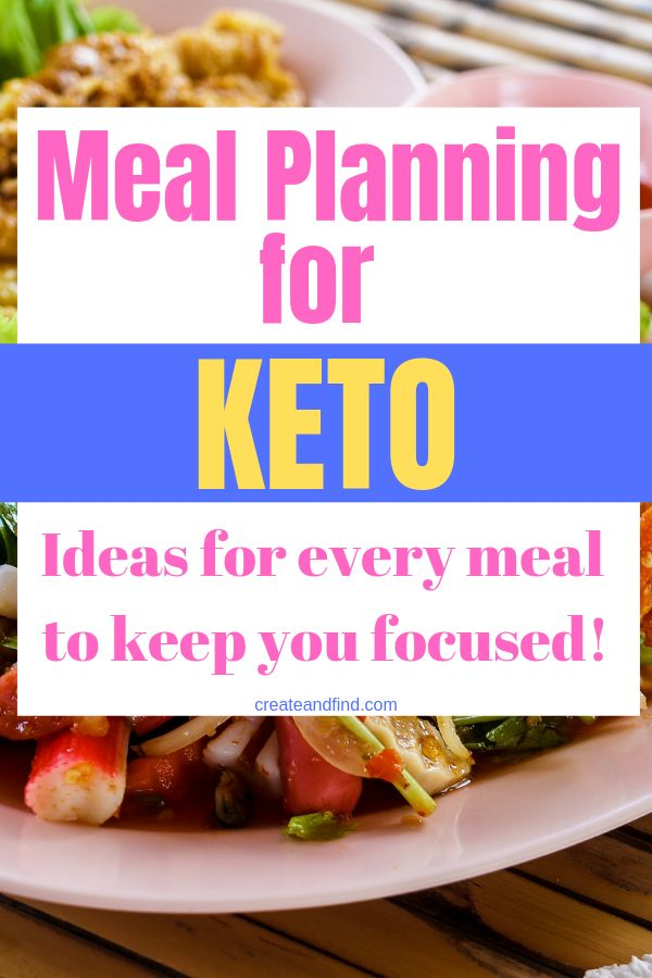 Keto Diet Meal Planning - 3 Week Easy Menu Keto Dinners Diet