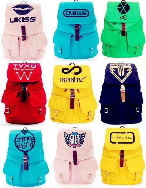 *rips up all back packs that I currently have* MOM!!!! I need a new back pack *eyes on EXO*