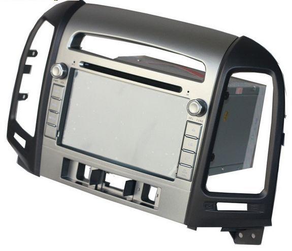 Android 5.1 car dvd GPS fOR  HYUNDAI SANTA FE 2006-2012 navigation radio gps wifi 3G Mirror link free map and reverse camera