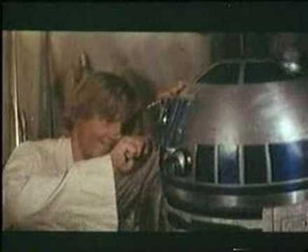 Star Wars - La Guerra de las Galaxias -First tailer - YouTube Epic Movie, Movie Tv, Critical Essay, Movie Trailers, Videos, Star Wars, Youtube, Lettering, Stars