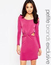 ASOS Petite   ASOS PETITE Maxi Dress With Embellished Sleeve at ASOS  Link