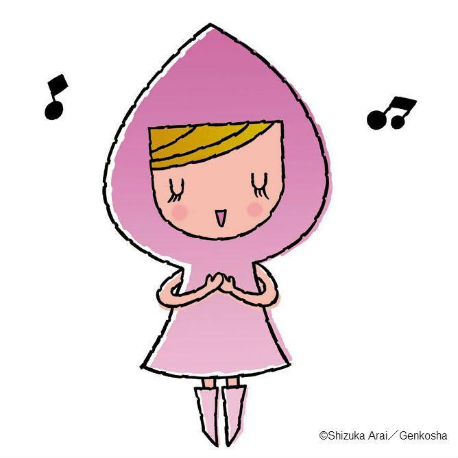 daileyちゃん| イラストレーションファイル・キャラクターズセレクション|illustration FILE - Characters Selection daileyちゃんは涙型のフードをかぶっています。 おしゃれが大好きなので、名前の通り、毎日毎日着替えています。 ハロウィンには、魔女の帽子付きフードと悪魔風な棒を持って街を歩きます。