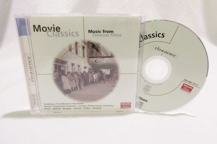 Philips Classics. Moviei Classics, Music from famous films. 1981 Last Action Hero Le nozze di Figaro. Case shows mild wear and tape marks, no cracks. CD has light surface scratches. CD has been tested and plays very well.   eBay!