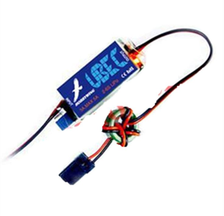 RC Toy Part External 3A UBEC Output 5V / 6V Switchable Lowest RF Noise BEC for RC Car F17548