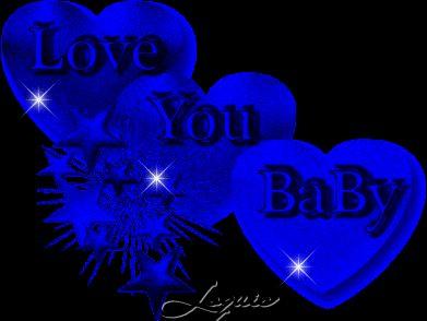 Blue Heart for You | Imagenes de Amor Hermosas animadas con movimiento | Imagenes Tiernas ...