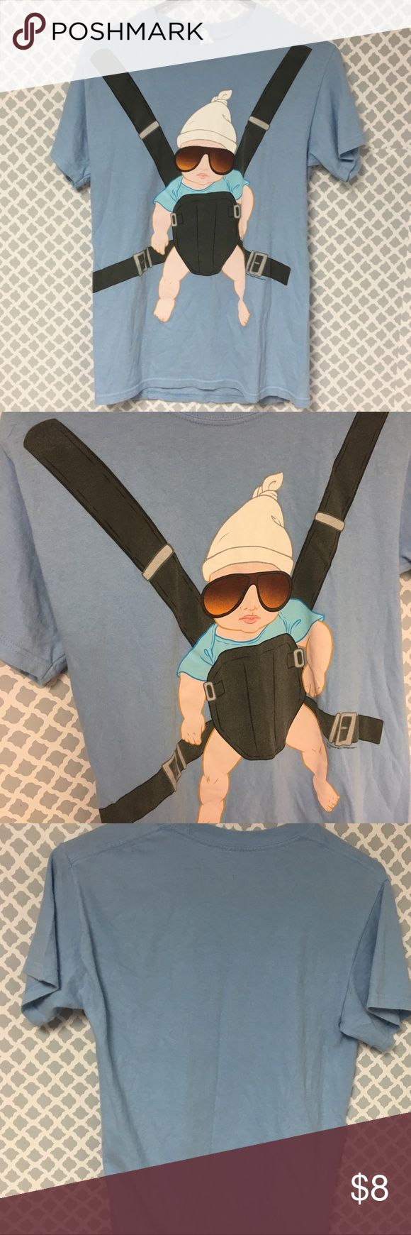 The Hangover Baby T Shirt 🔘Description: The Hangover Baby T Shirt Men's Size Small  🔘Condition: Good   🔘Material: 100% Cotton  🔘Measurements:       Pit to Pit – 18 inches       Shoulder to Hem – 27 inches    ⭐️ 15% Off All Bundles! 🛍    💞Thanks for stopping by! 😘 Shirts Tees - Short Sleeve