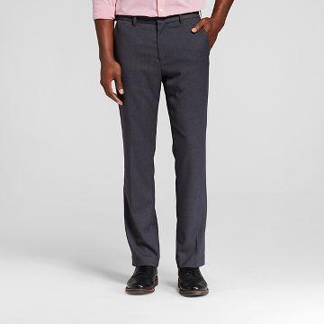 Men's Big & Tall Slim Fit Suit Pant Gray - Merona™