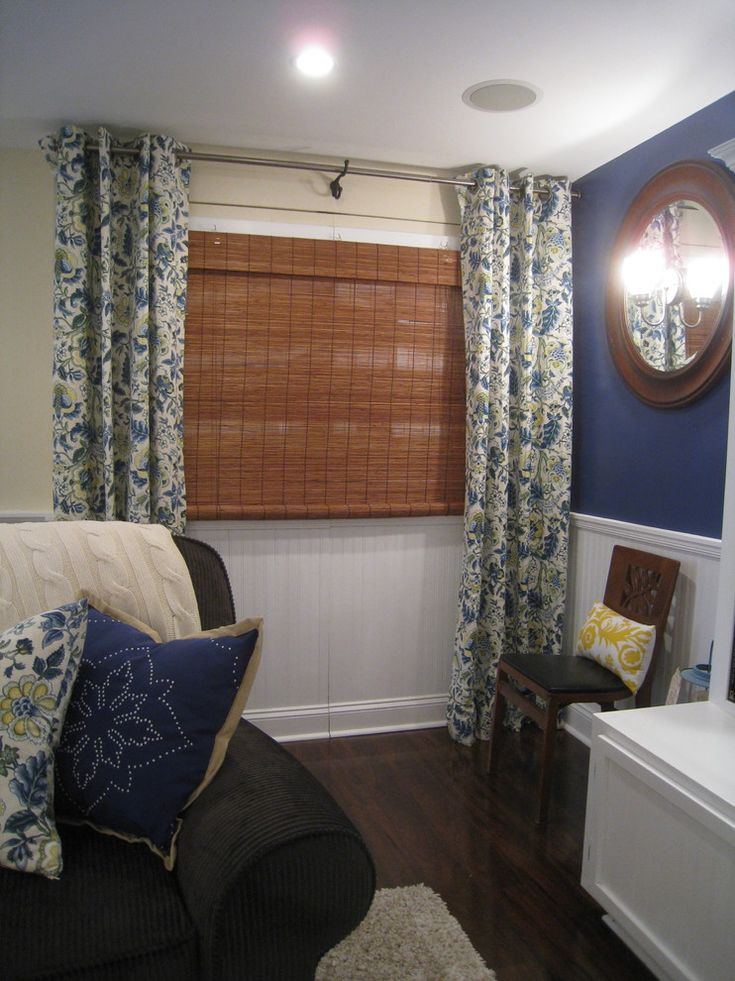 1000 Ideas About Basement Window Curtains On Pinterest