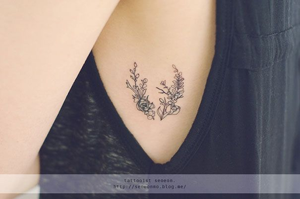 Tatouages Minimalistes de Seoeon - Chambre237