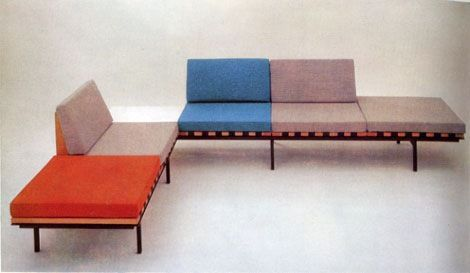 'Form' Unit Furniture by British designer Robin Day for Hille 1961