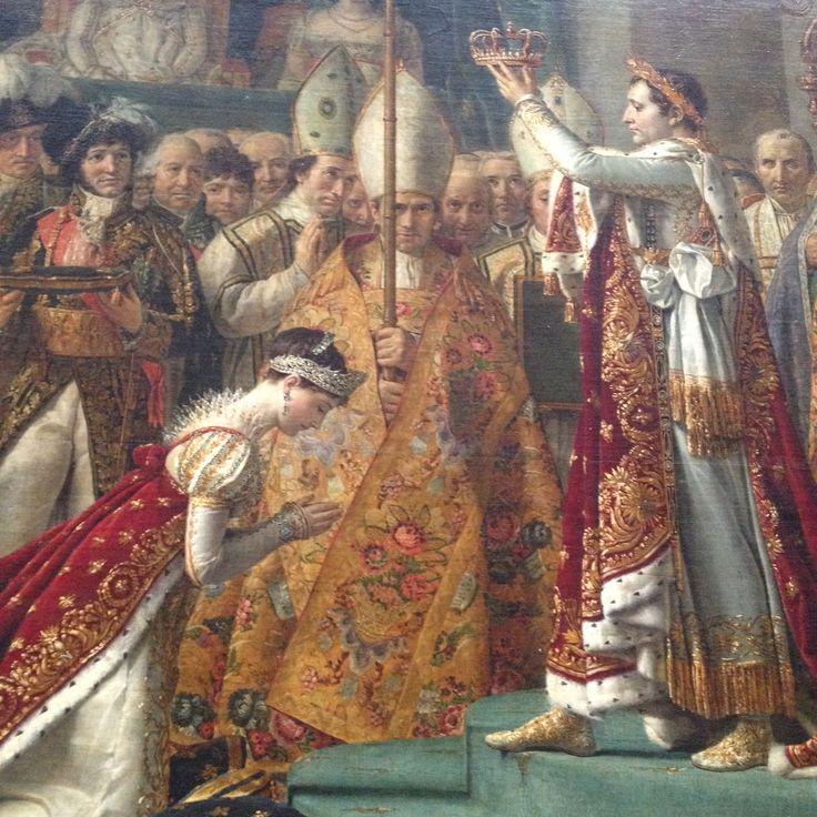 The Coronation of Napoleon: Jacques-Louis David 1807