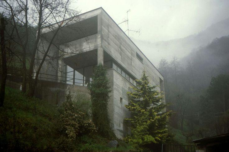 Casa Kalman, Brione sopra Minusio, Switzerland, Luigi Snozzi, 1976