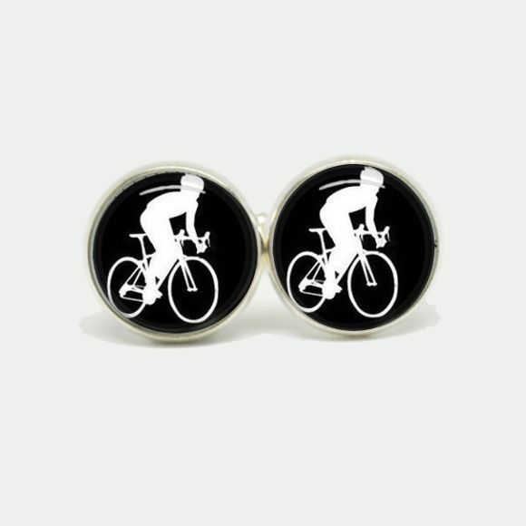 Bike Cufflinks |Krinkle Gifts