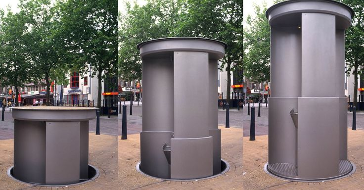 Australia's first hydraulic pop-up urinal has arrived to everyone's relief.  http://mashable.com/2016/02/16/australias-pop-up-urinal/?utm_cid=mash-prod-nav-sub-st