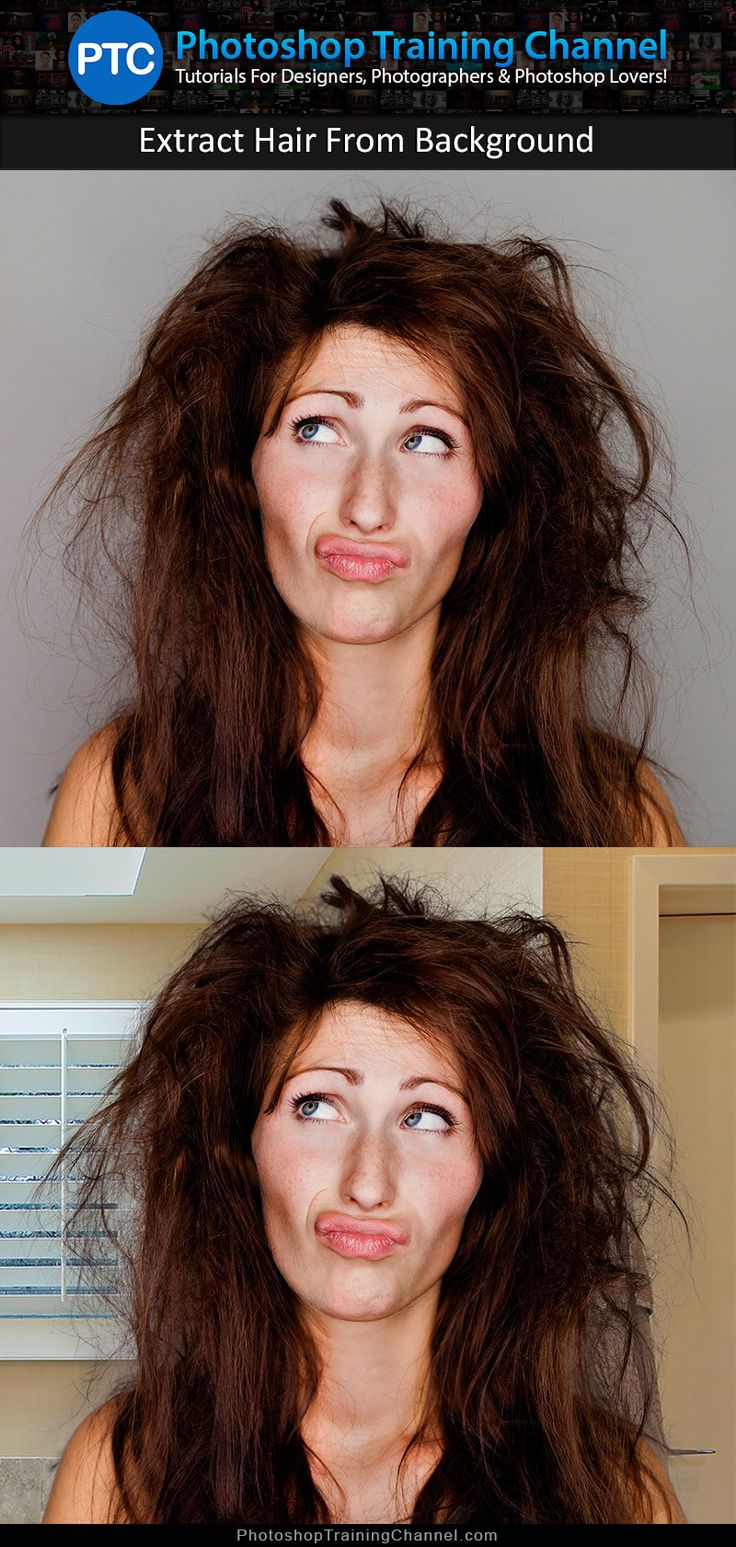 Learn 2 different professional techniques to mask hair.   http://photoshoptrainingchannel.com/advance-hair-masking/