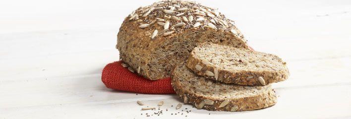 Et ekte superbrød med Omega-3 og kalsium fra Chiafrø, og komplett og lettopptakelig protein  fra hamp-planten.