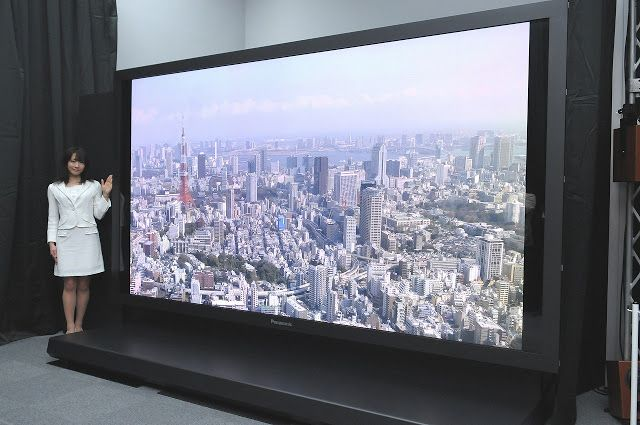 Next Big Future: 8K ultra-high definition televisions could reach 1 million units by 2019 with consumer shift to continually larger TVs