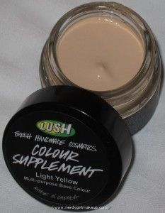BEST FOUNDATION EVER! lush colour supplement, I RECOMMEND YOU ALL GET SOME!! mix with LUSH vanishing cream for smooth even skin tone!!!♥♥♥