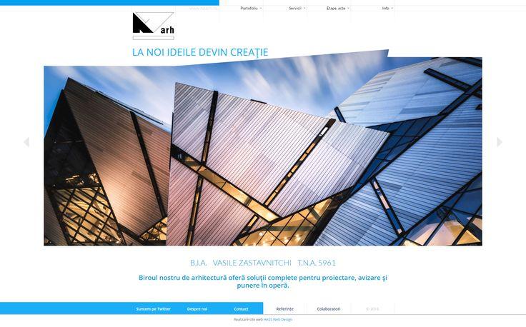 Site-ul biroului de arhitectura NZARH - nzarh.ro