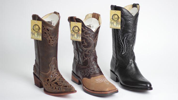 """En el Pabellón """"Marcas GTO"""" de la Feria Estatal de León encontraras botas en el stand de Botas Solitario. Un producto de calidad hecho en Guanajuato que te va a encantar."""