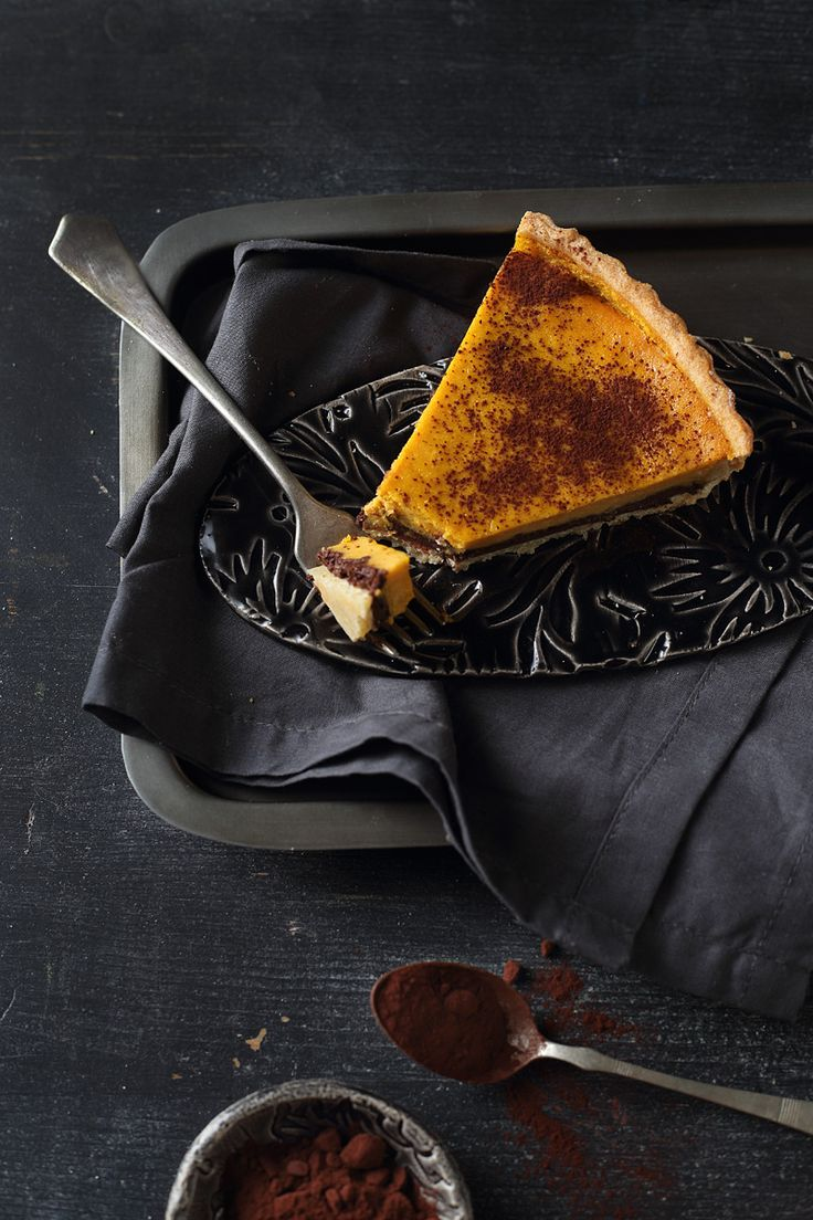 pumpkin cheesecake pie / Zita Csigó Photography&Styling