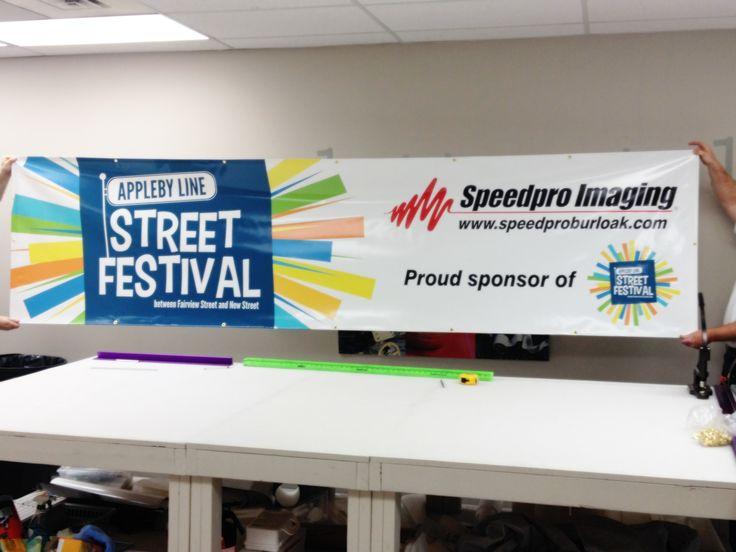 Speedpro Imaging Burloak, sponsors of the Appleby Line Street Festival (http://www.carfreeappleby.ca/) !