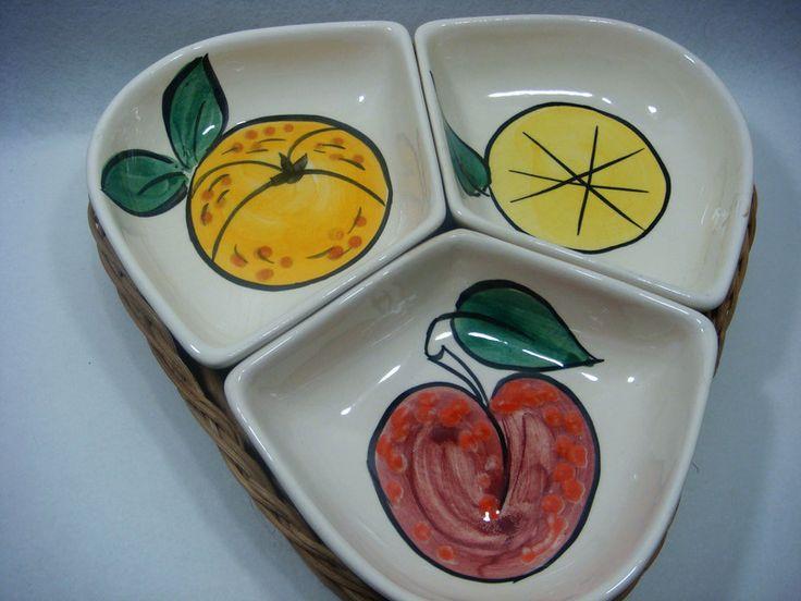 Vintage Schalen - Anbieteset der Sechziger Jahre,Vintage, - ein Designerstück von oldtimes bei DaWanda