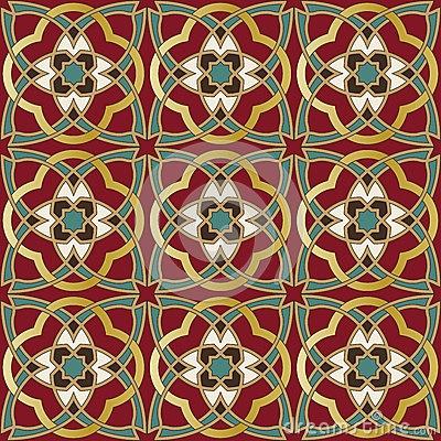 Arabic seamless pattern by Paulrommer,
