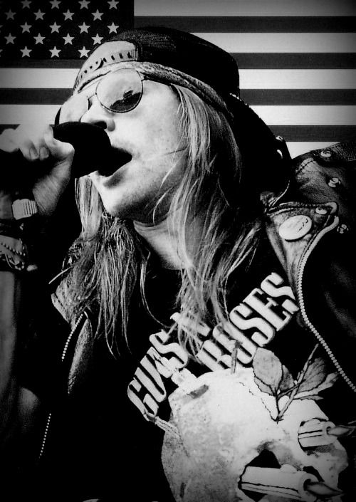 Axl Rose, American singer-songwriter and musician. Born in 1962