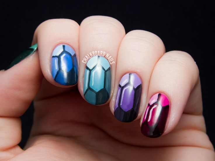 Best 25 gem nails ideas on pinterest butter london velvet rope tutorial precious gems nail art inspired by the ring and the crown prinsesfo Gallery
