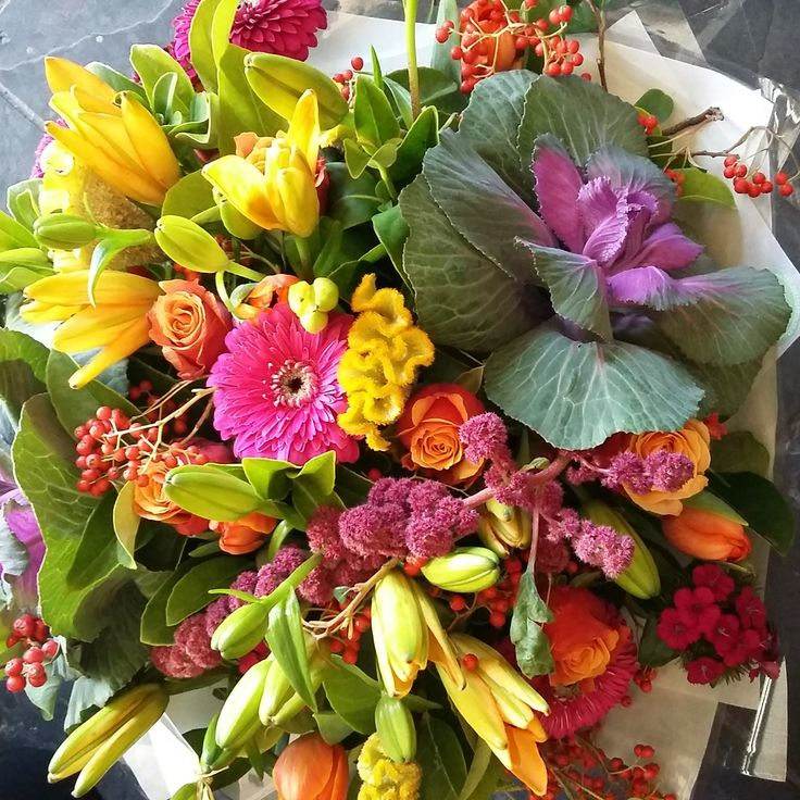 #flowers #bright #bunch