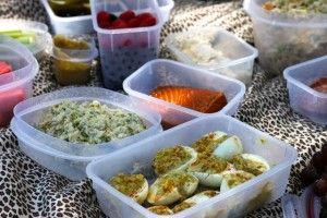 A Paleo Picnic   Everyday Paleo: Picnic Chicken Salad, Tuna Salad, & Deviled Eggs
