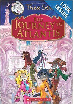 Thea Stilton Special Edition: The Journey to Atlantis: A Geronimo Stilton Adventure: Thea Stilton: 9780545440202: Amazon.com: Books