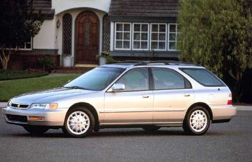 "While driving the Sienna we bought a used second car from a friend--a Honda Accord station wagon named, ""Georgia."""