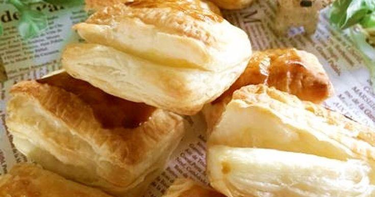 冷凍パイシートを使って、お手軽簡単なミニサイズのパイです♪ パイ生地とクリームチーズ、とても相性が良いですね!