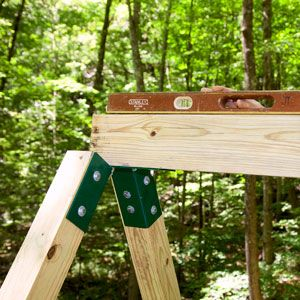 Wooden Swing Set Plans - How to Build a Swing Set for the Yard