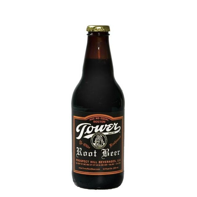 Tower Root Beer Gone for 30 years, the family of Domenick Cusolito, has resurrected the old family recipe of this Boston Root Beer. Founded originally in 1914, Domenick made his root beer unique by ad