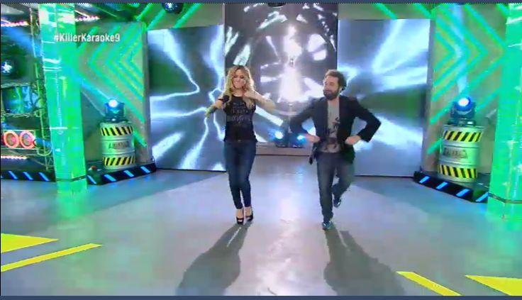 Enhorabuena#Edurne#eurovision#jeans#aninebing#tv#
