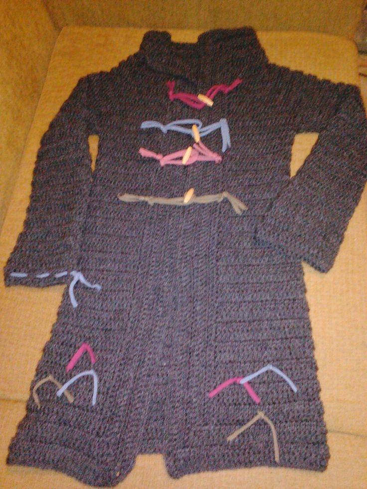 My crochet jacket finished.